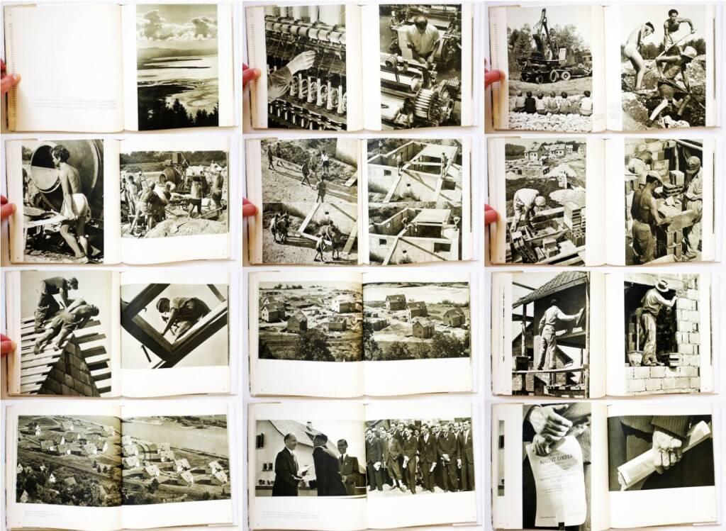 Stefan Kruckenhauser - Ein Dorf wird, Otto Müller 1952, Beispielseiten, sample spreads - http://josefchladek.com/book/stefan_kruckenhauser_-_ein_dorf_wird, © (c) josefchladek.com (31.05.2015)