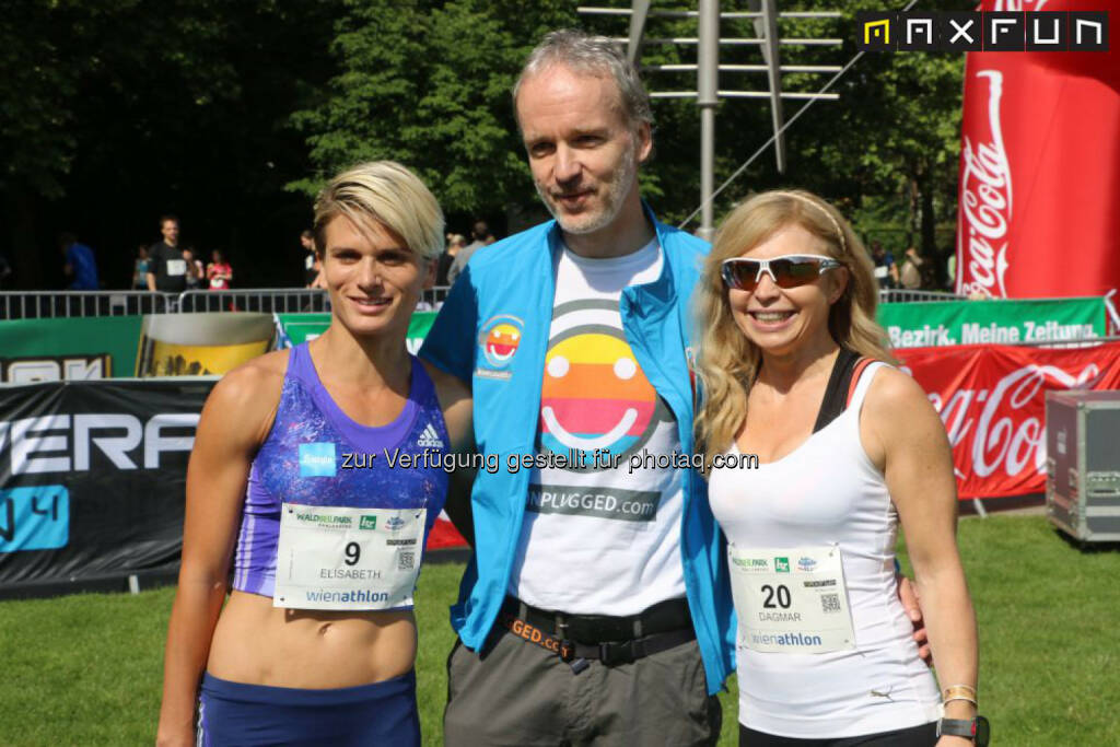 Elisabeth Niedereder, Tristyle Runplugged Runners, Christian Drastil, Runplugged, © MaxFun Sports (31.05.2015)