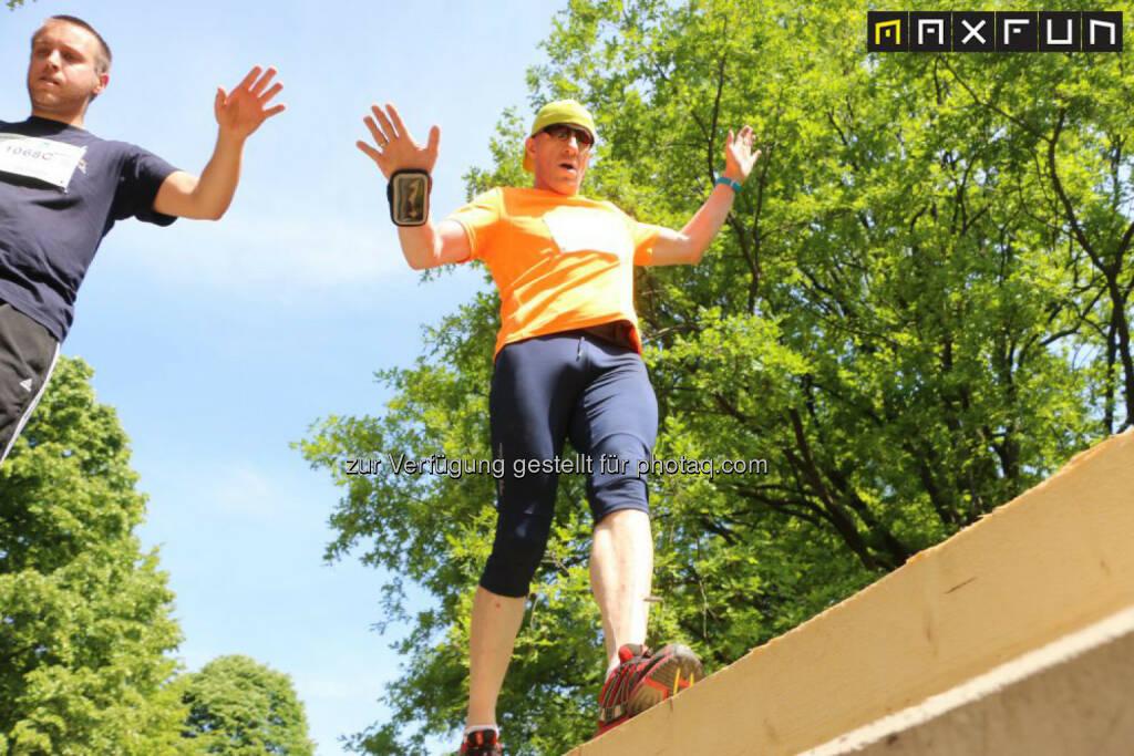 Wienathlon, überqueren, balancieren, Balance, © MaxFun Sports (31.05.2015)