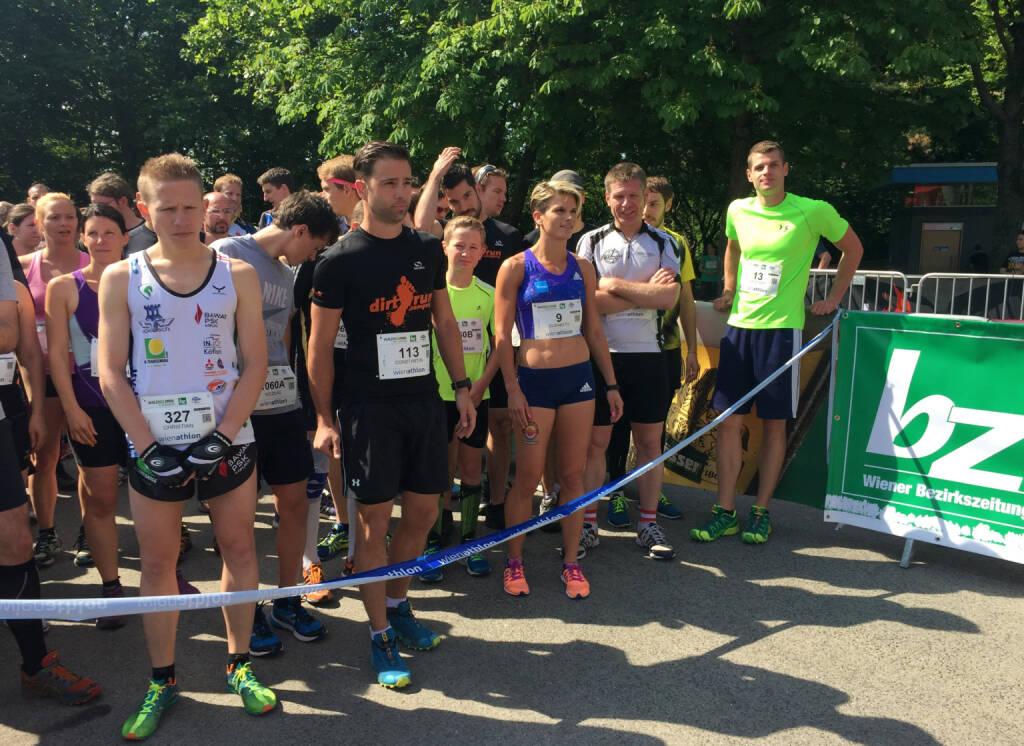 Start Wienathlon (31.05.2015)