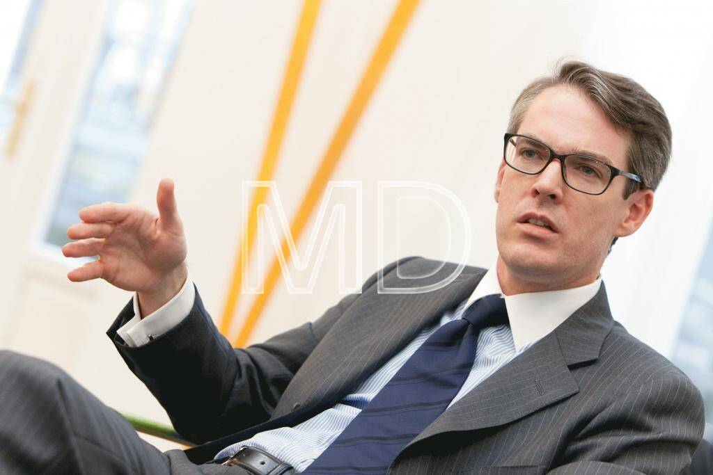 Heiko Geiger, Head Public Distribution Deutschland & Österreich Vontobel Investment Banking, freut sich über eine verstärkte Partnerschaft mit direktanlage.at (c) Martina Draper (04.03.2013)
