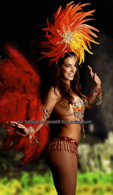 Nina Hartmann im Programm Brasil (© Luis Casanova-Sorolla) (05.03.2013)