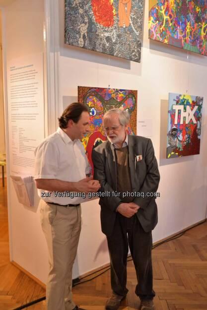 Veranstalter Konstantin F. Chatziathanassiou, Ulrich Gansert (C) Johannes Asenbaum, © Robert Rieger, Manfred Schmid, Johannes Asenbaum, Peter F. Hickersberger (02.06.2015)