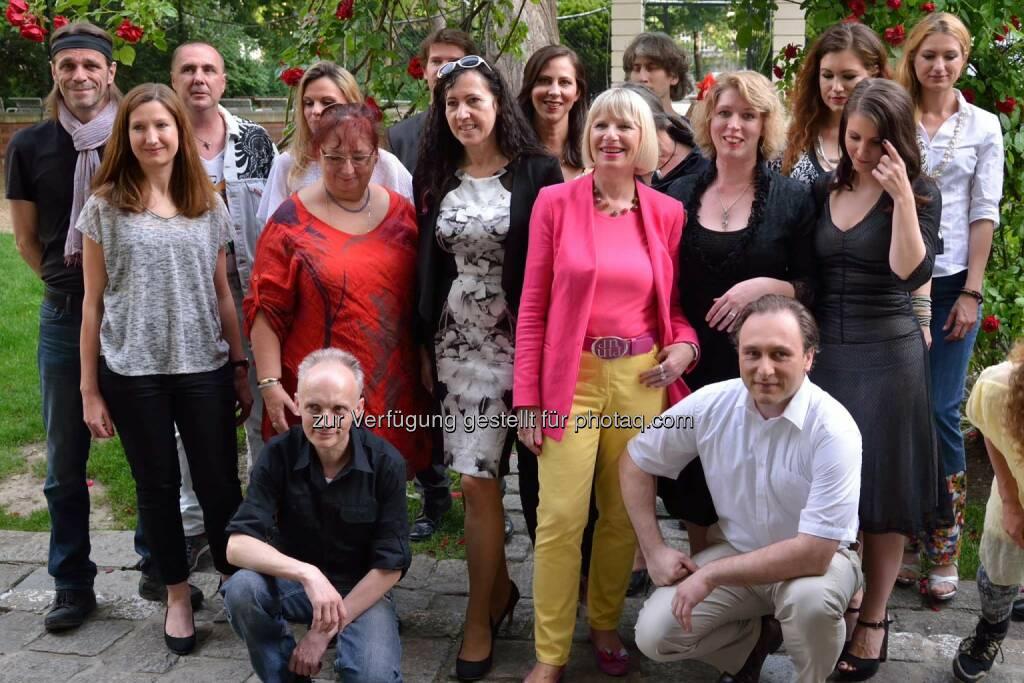 alle Künstler mit Veranstalter (C) Johannes Asenbaum, © Robert Rieger, Manfred Schmid, Johannes Asenbaum, Peter F. Hickersberger (02.06.2015)