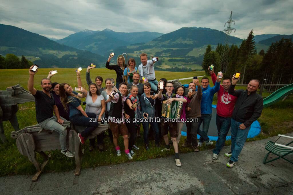 Österreich Werbung: Elite der internationalen Tourismus-Blogger entdeckt Österreich (C) Österreich WErbung, © Aussender (02.06.2015)
