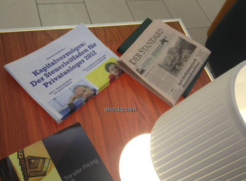 Das Sonderfachheft Steuern bei Deloitte - http://www.christian-drastil.com/sonderfachheft1/ (05.03.2013)