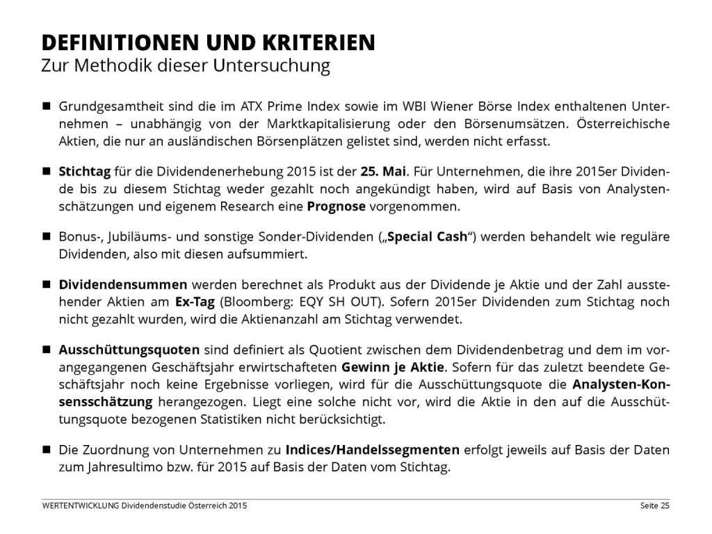 Definitionen und Kriterien (03.06.2015)