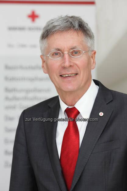 Reinhard Krepler ist neuer Präsident des Wiener Roten Kreuzes  (C) WRK/Hechenberger, © Aussender (03.06.2015)
