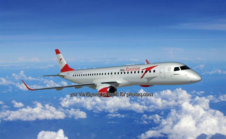 Austrian Airlines Aufsichtsrat genehmigt Kauf von 17 Embraer-Jets