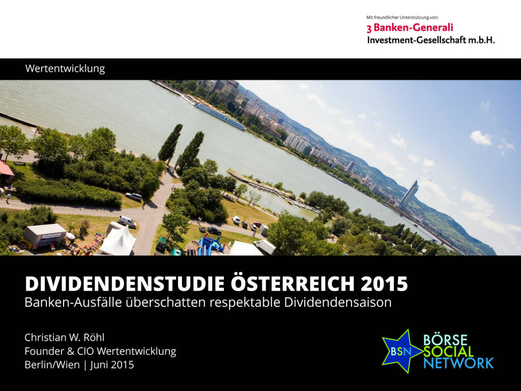 Dividendenstudie Österreich 2015, Seite 1/26, komplettes Dokument unter http://boerse-social.com/static/uploads/file_80_dividendenstudie_osterreich_2015.pdf (03.06.2015)