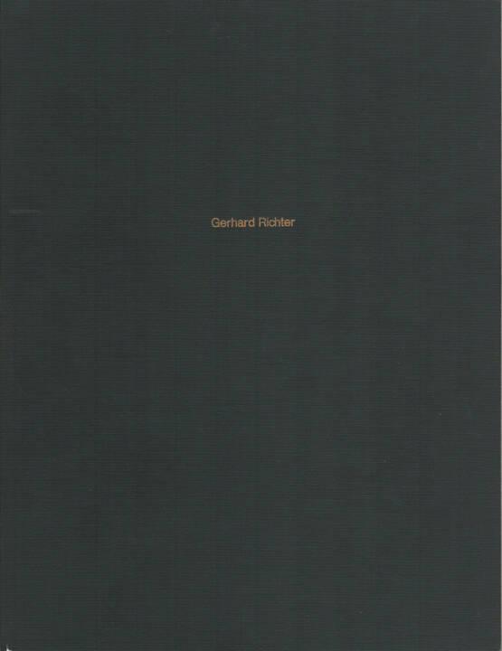 Gerhard Richter - Gerhard Richter, Museum Folkwang 1972, Cover - http://josefchladek.com/book/gerhard_richter_-_gerhard_richter