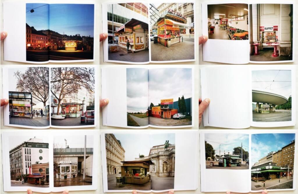 Stefan Olah - Fünfundneunzig Wiener Würstelstände, Anton Pustet 2013, Beispielseiten, sample spreads - http://josefchladek.com/book/stefan_olah_-_funfundneunzig_wiener_wurstelstande, © (c) josefchladek.com (07.06.2015)