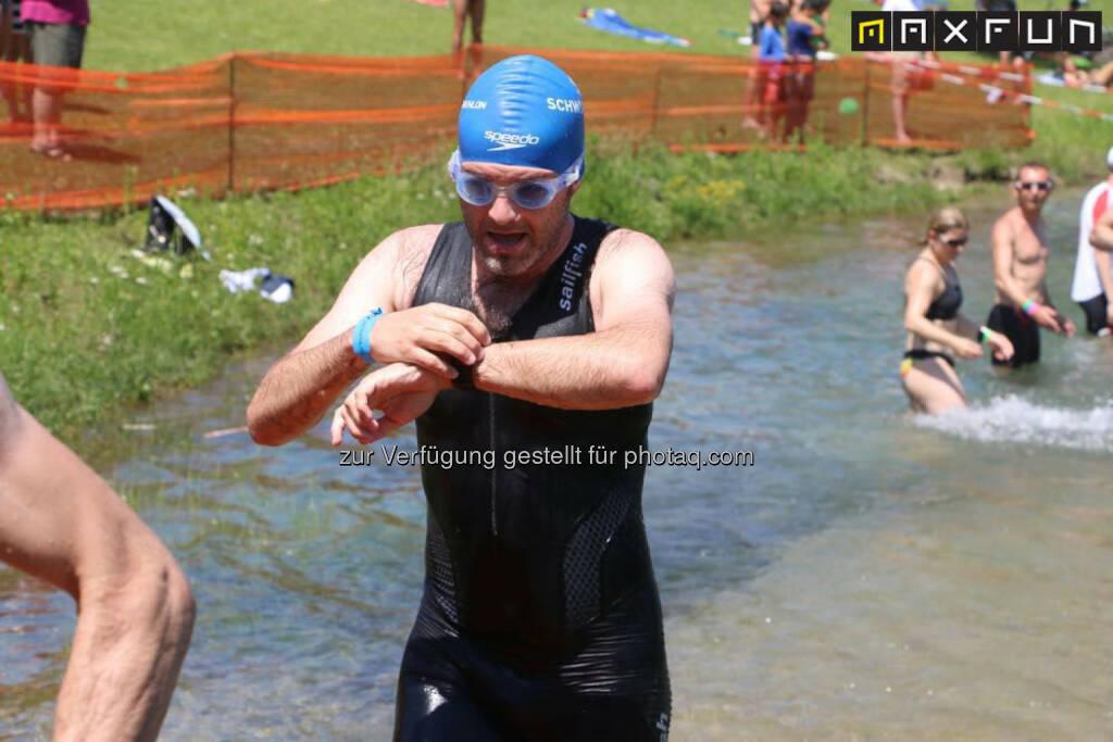 Linz Triathlon, Uhr, Zeit, Verspätung, spät, pünktlich, © MaxFun Sports (07.06.2015)