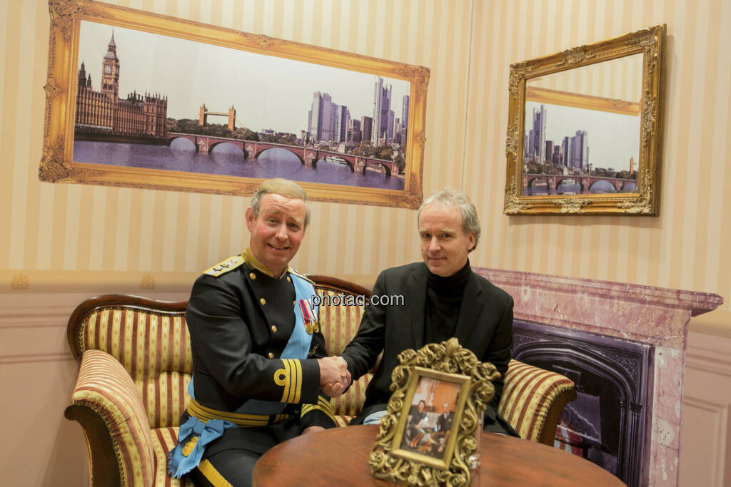 Fonds Professionell Kongress 2013 - Christian Drastil und Prinz Charles, © Martina Draper/finanzmarktfoto.at (06.03.2013)
