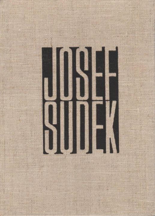 Josef Sudek - Fotografie, Statni Nakladatelstvi Krasne Literaturi 1956, Cover - http://josefchladek.com/book/josef_sudek_-_fotografie