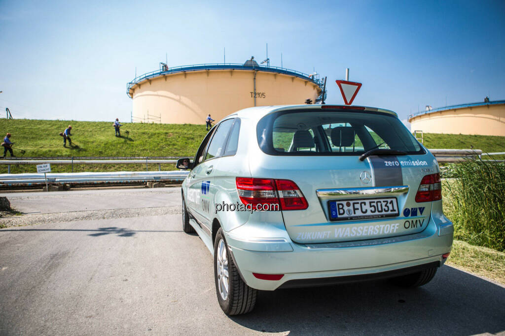 Wasserstoffauto der OMV, © photaq/Martina Draper (10.06.2015)