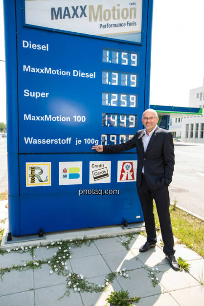 Walter Böhme (Leiter Innovationsmanagement OMV), © photaq/Martina Draper (10.06.2015)