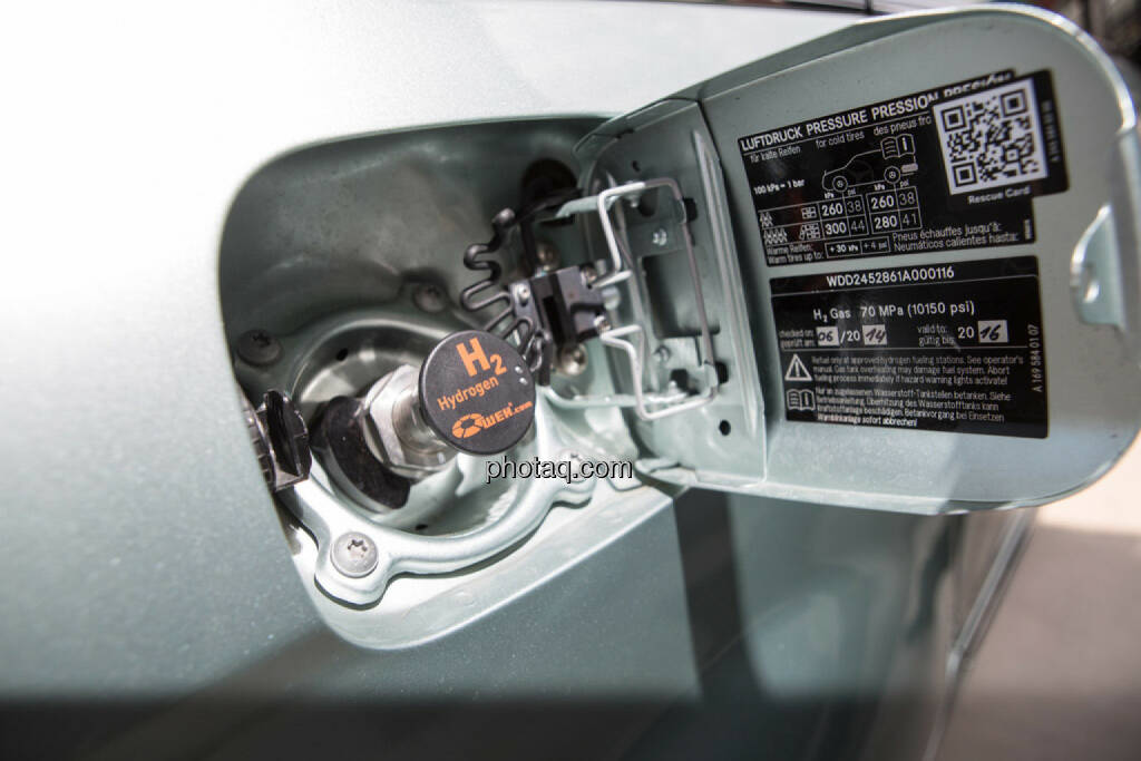 OMV Wasserstoffauto, © photaq/Martina Draper (10.06.2015)
