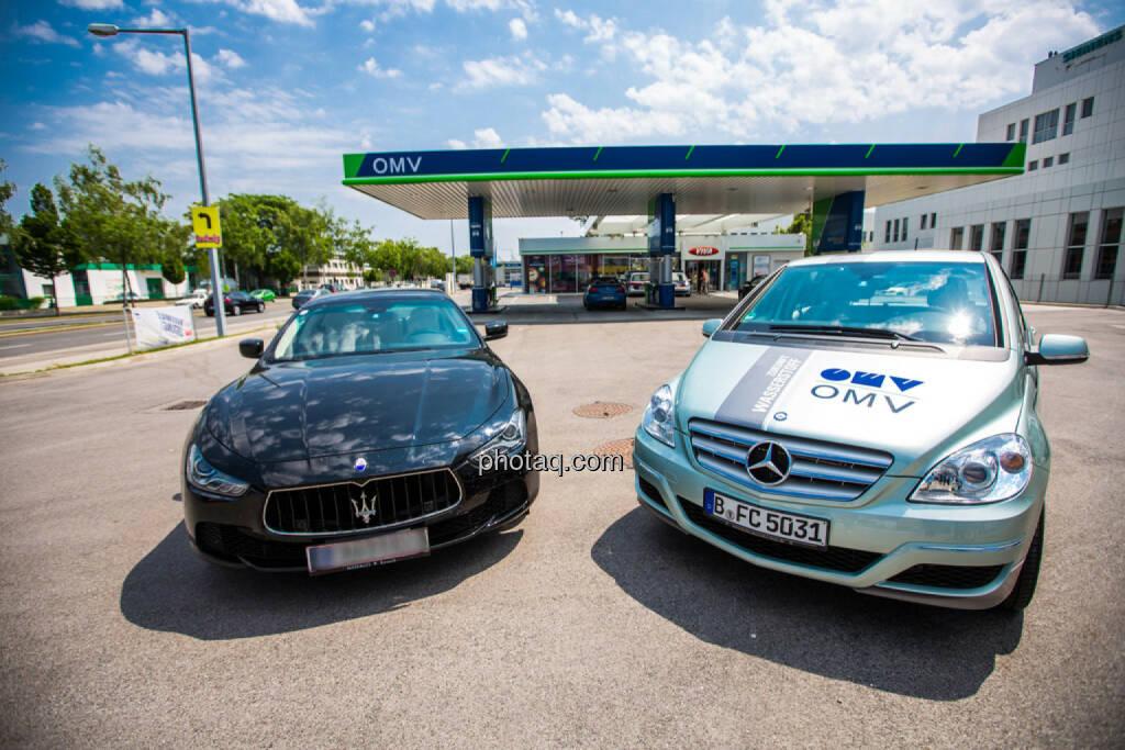 Maserati, OMV Wasserstoffauto, © photaq/Martina Draper (10.06.2015)