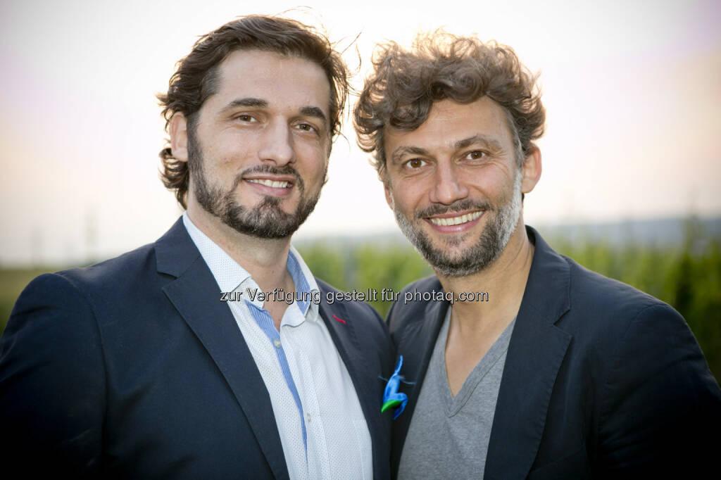 Marcelo Puente, Jonas Kaufmann, © Roland Schuller (10.06.2015)