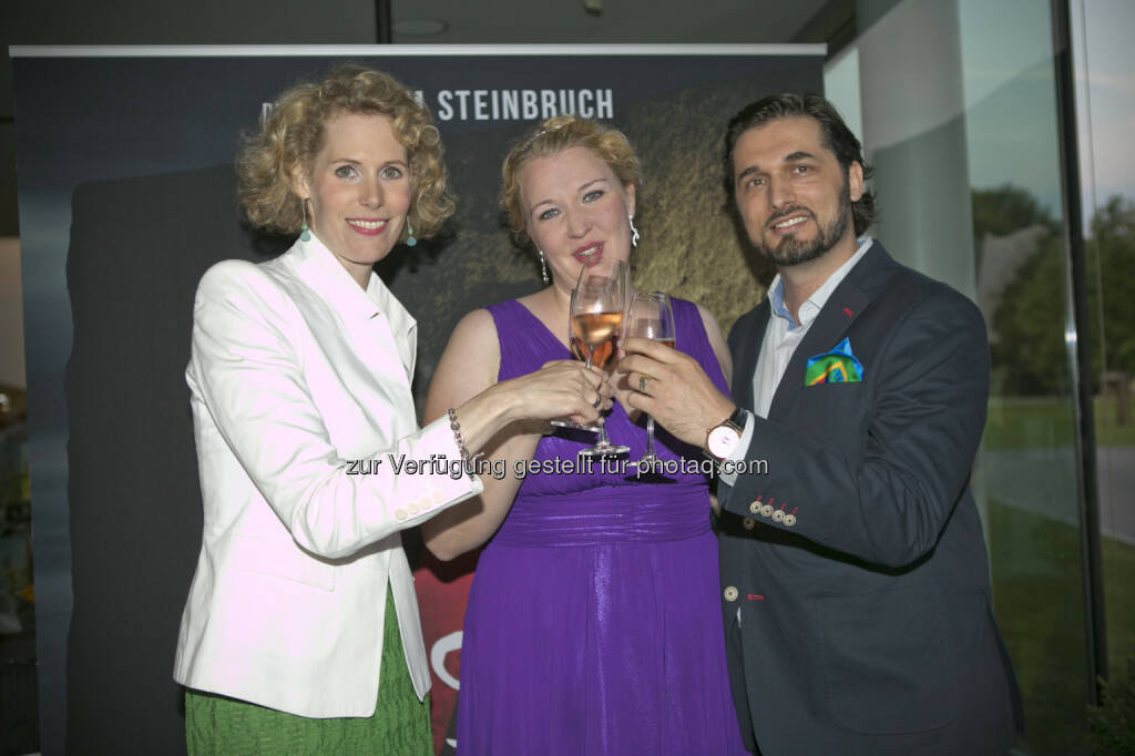 Maren Hofmeister, Kathrin Adel, Marcelo Puente, © Roland Schuller (10.06.2015)