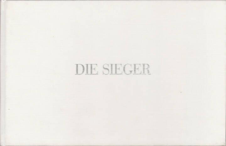 Manfred Willmann - Die Sieger - Arbeiten 1971 - 1989, Akademische Druck- u. Verlagsanstalt 1990, Cover - http://josefchladek.com/book/manfred_willmann_-_die_sieger_-_arbeiten_1971_-_1989