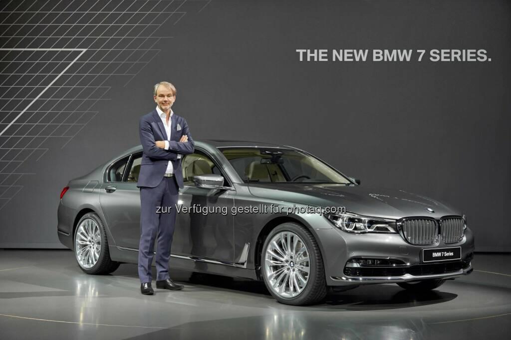 Adrian van Hooydonk - Leiter BMW Group Design; Präsentation der neuen BMW 7er Reihe (C) BMW, © Aussendung (11.06.2015)