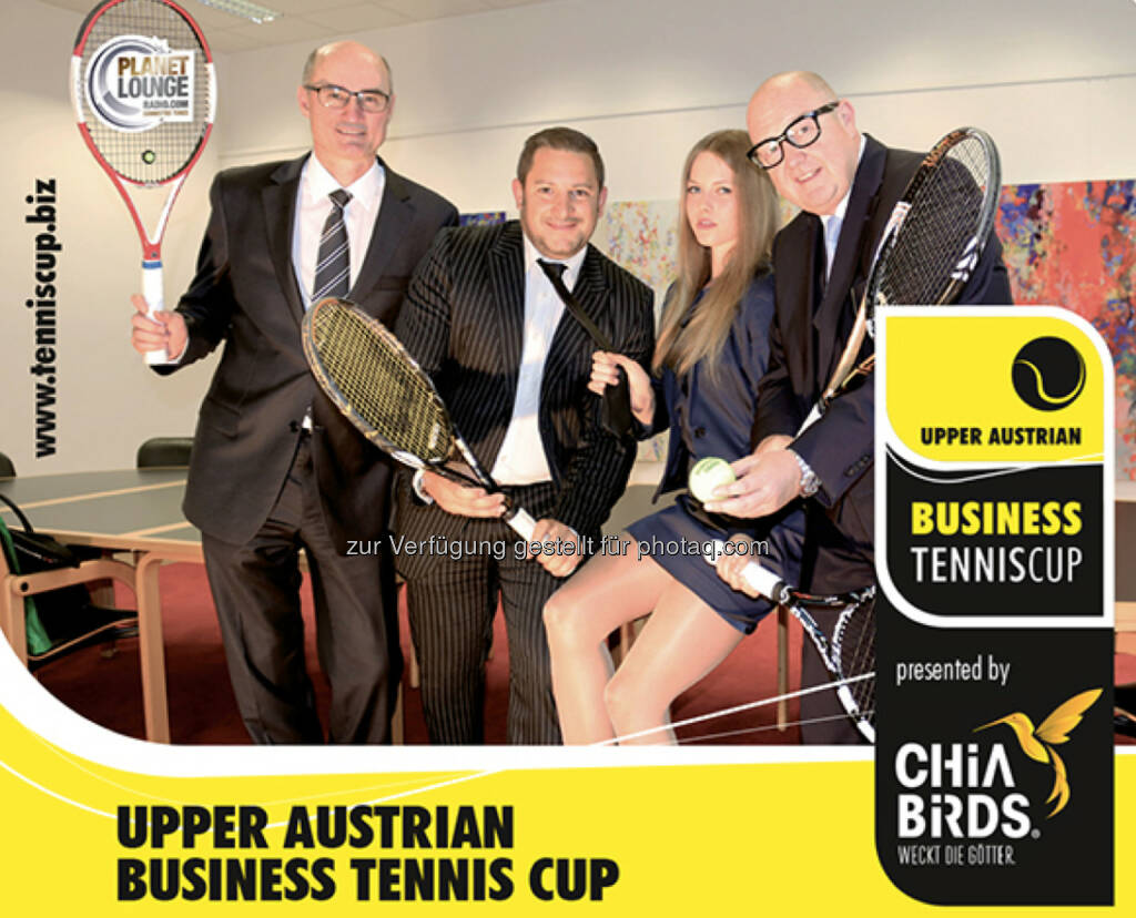 Upper Austrian Business Tennis Cup für September 2015 angekündigt, © Aussendung (14.06.2015)