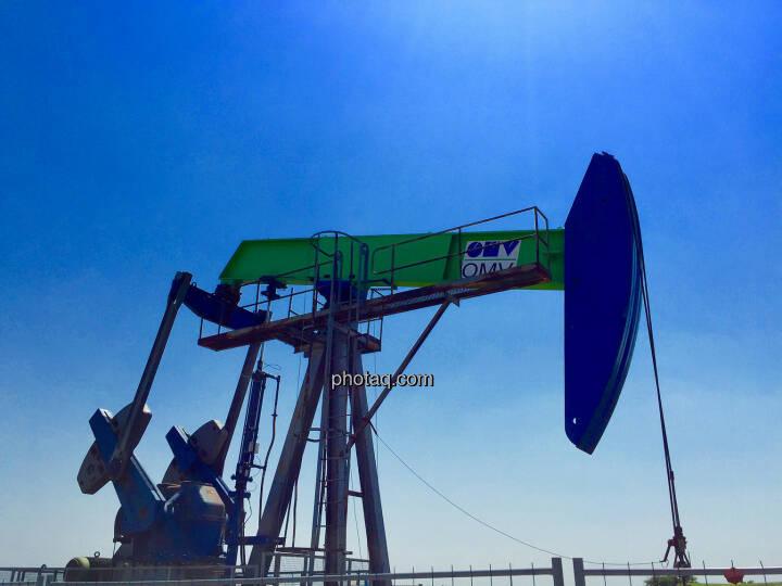 OMV Bohrturm, Prinzendorf, Niederösterreich, Öl, Förderung