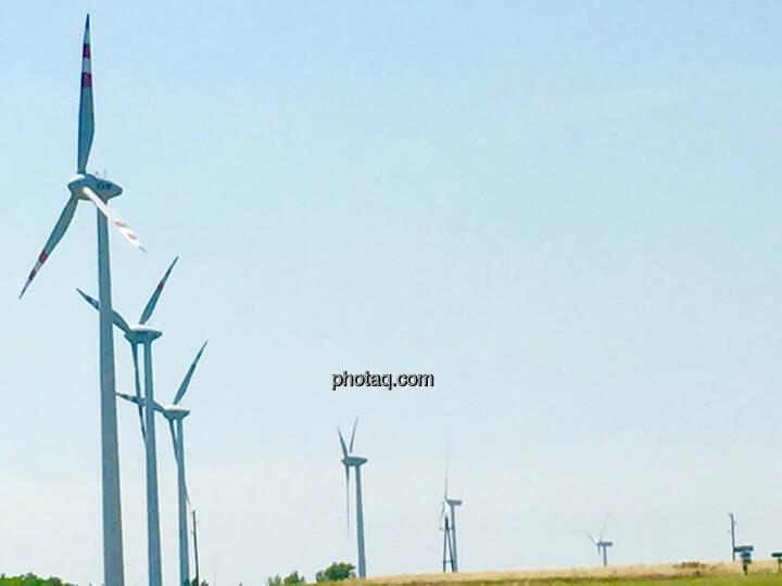 Windräder, Windanlage, Windenergie, Niederösterreich