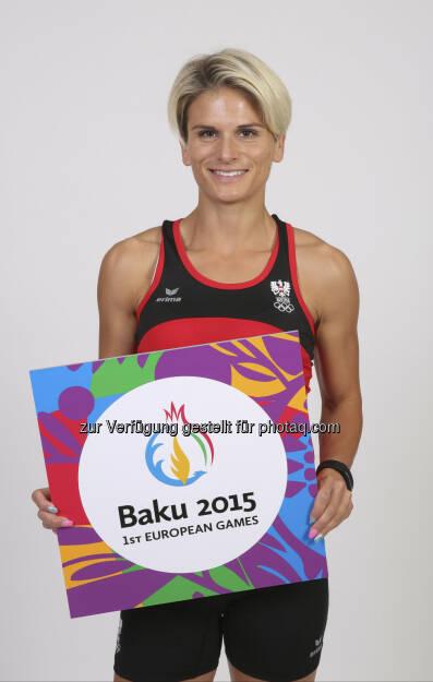 Elisabeth Niedereder, mit tristyle.at in 1090 ansässig, startet für Österreich bei den European Olympic Games in Baku - Fotocredit: ÖOC/GEPA  (15.06.2015)