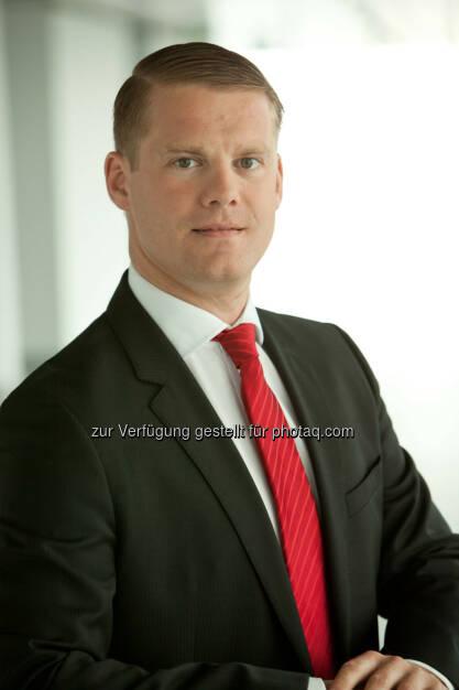 Stefan Schönauer (Immofinanz) wird zum Head of Capital Markets and Corporate Strategy und damit für die strategische Planung und Entwicklung der Immofinanz zuständig. Daneben bleiben die Immobilienbewertung und der Bereich Corporate Finance wie bisher bei ihm angesiedelt (Bild: Immofinanz), © Aussender (15.06.2015)