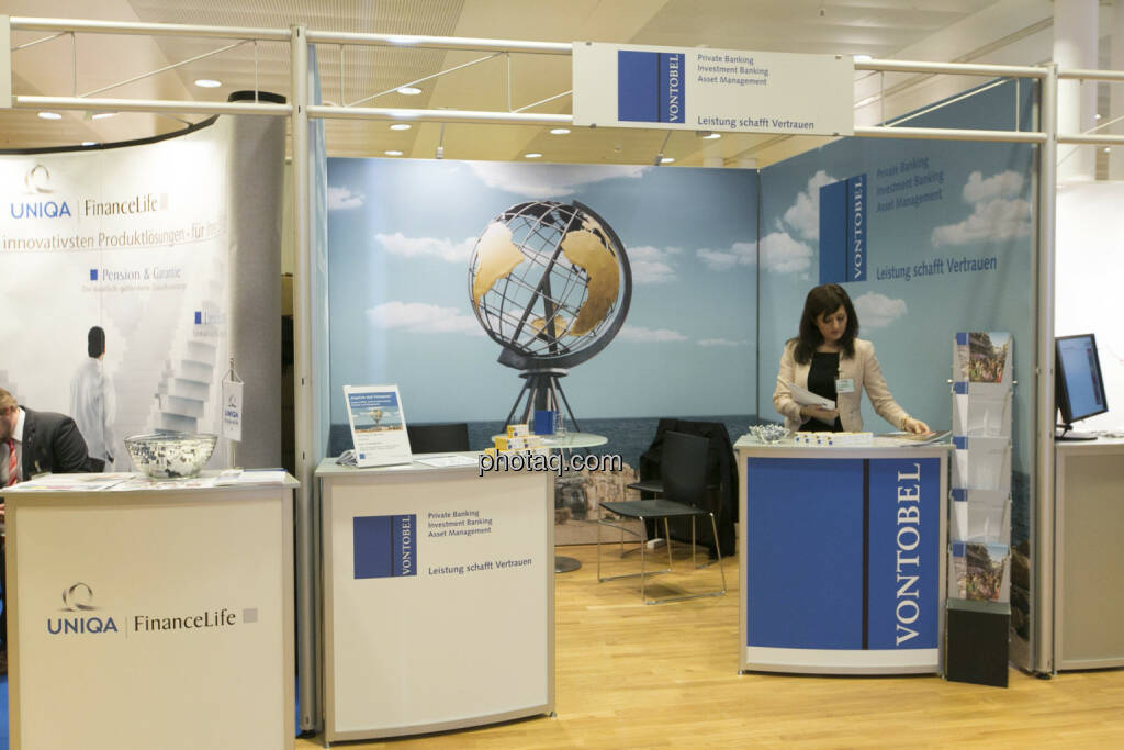 Fonds Professionell Kongress 2013 - Stand Vontobel, © Martina Draper/finanzmarktfoto.at (06.03.2013)