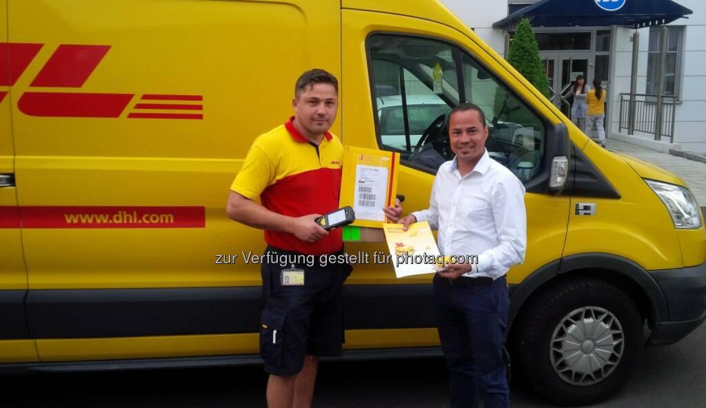 35 Jahre DHL Express in Österreich, (C) DHL, © Aussender (18.06.2015)