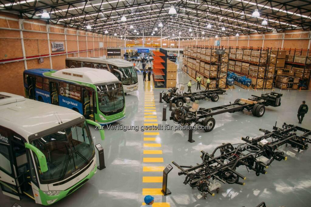 Daimler eröffnet Buswerk in Kolumbien und baut Busgeschäft in Lateinamerika aus(C) Daimler, © Aussendung (18.06.2015)