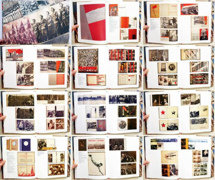Mikhail Karasik - Great Stalinist Photobooks / Paradnajakniga Strany Sovetov, Kontakt-Kultura 2007, Beispielseiten, sample spreads - http://josefchladek.com/book/mikhail_karasik_-_great_stalinist_photobooks_paradnajakniga_strany_sovetov