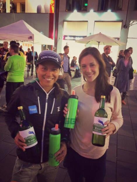 Annabelle Mary Konczer (Tristyle Runplugged Runners): Sieg beim Fairnessrun und 2. Platz mit Carina Stepanek in der Damenstaffel bei ihrem sehr gelungenen Debütlauf!  (19.06.2015)