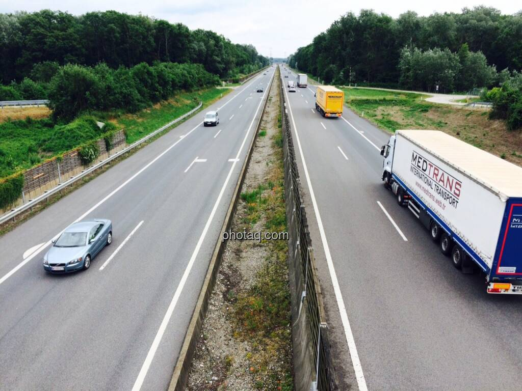 Autobahn, S5, © Martina Draper (19.06.2015)