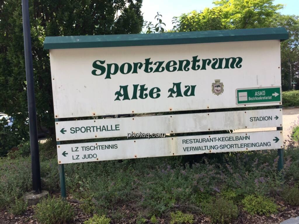 Sportzentrum Alte Au, Stockerau, © Martina Draper (21.06.2015)