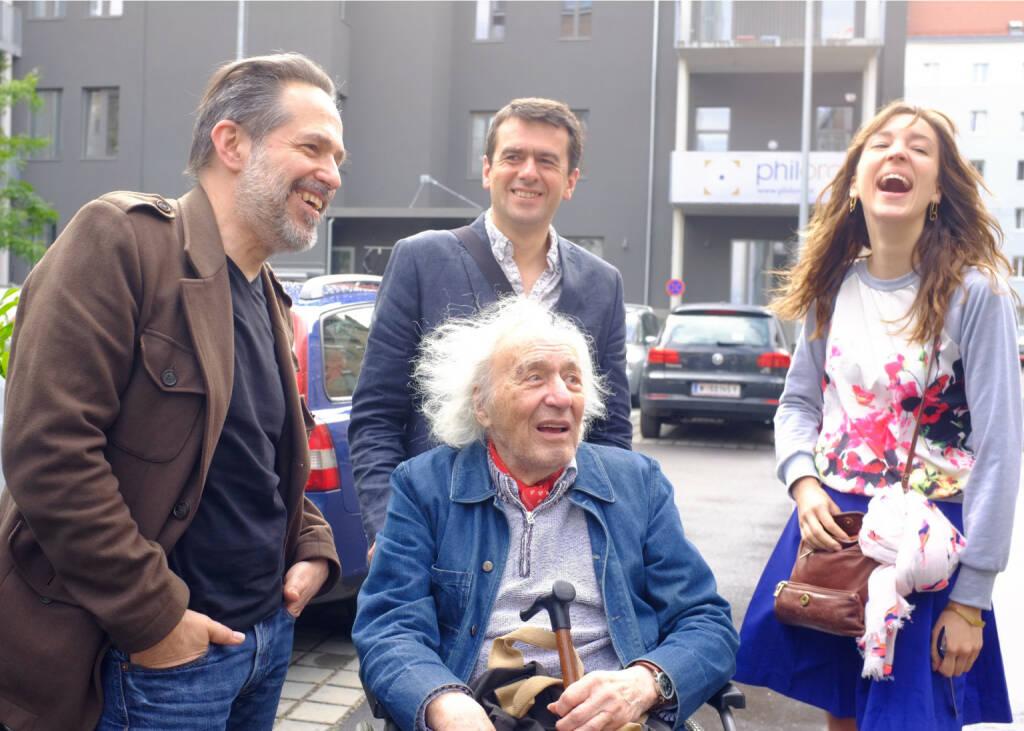 Andreas H. Bitesnich, William Klein, Jean-Louie, Amélina Limousin , © Josef Chladek (21.06.2015)