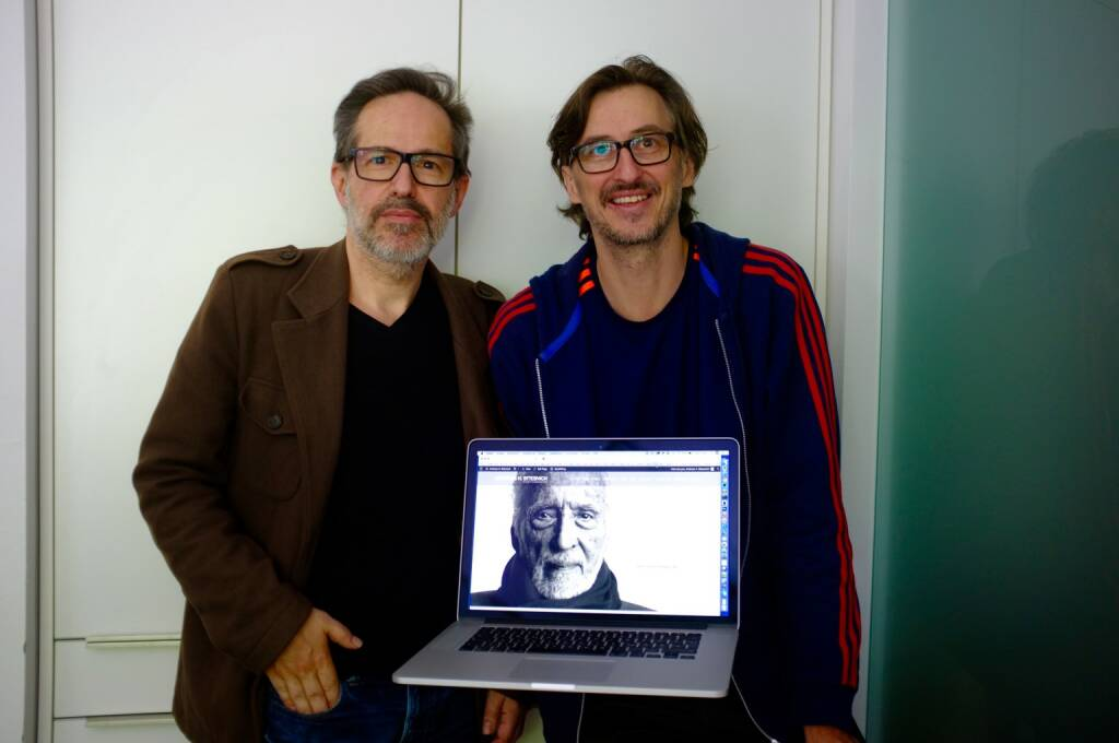 Andreas H. Bitesnich, Josef Chladek, http://bitesnich.com am Schirm, © Josef Chladek (21.06.2015)