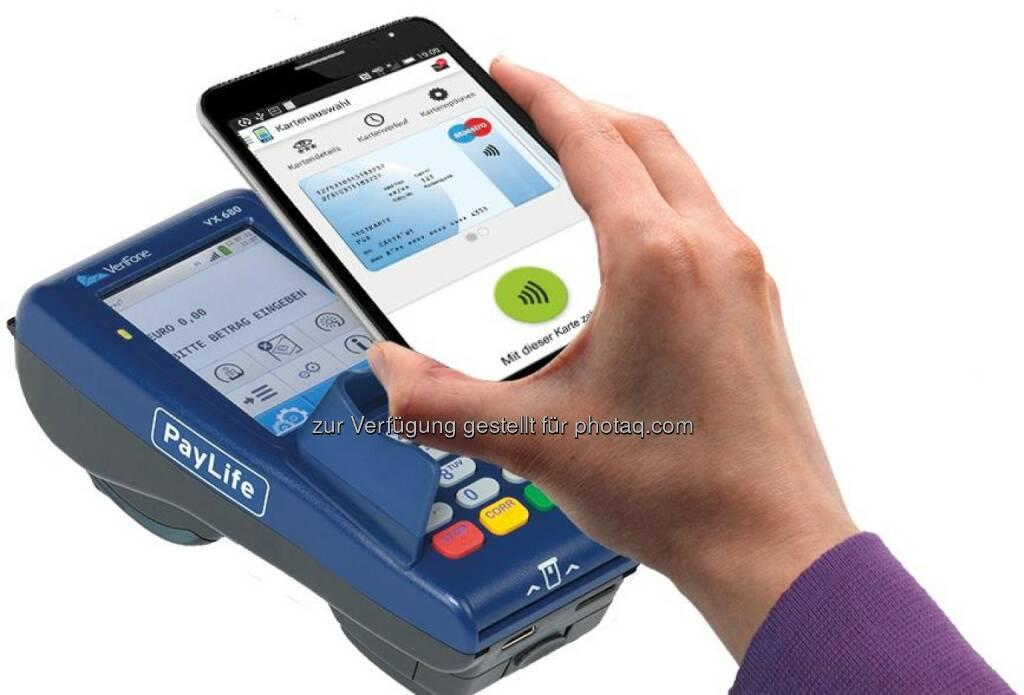 PSA - Payment Services Austria GmbH: Die Bankomatkarte goes mobile-Bankomatkarte - mobil - bezahlen mit dem Smartphone (C) PSA, © Aussender (22.06.2015)