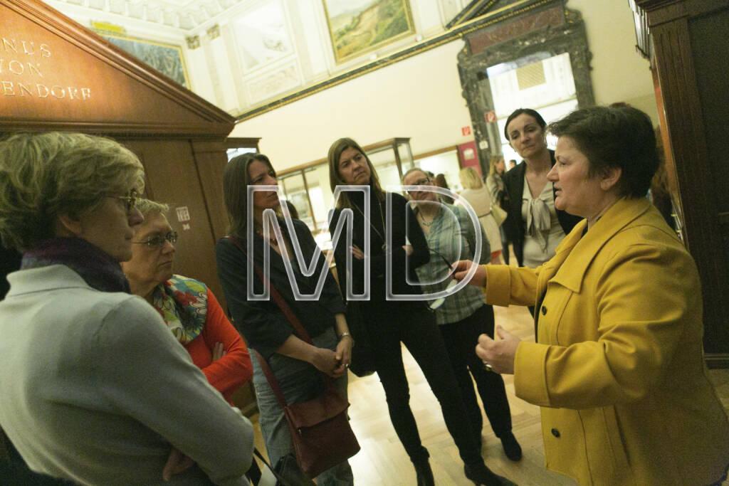 Walburga Antl (Wissenschaftliche Mitarbeiterin NHM und Expertin für Alt- und Jungsteinzeit), © Martina Draper für Deloitte (07.03.2013)