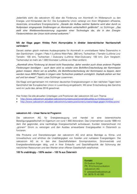 oekostrom Klage gegen AKW Hinkley fertig, Seite 2/2, komplettes Dokument unter http://boerse-social.com/static/uploads/file_155_oekostrom_klage.pdf (23.06.2015)