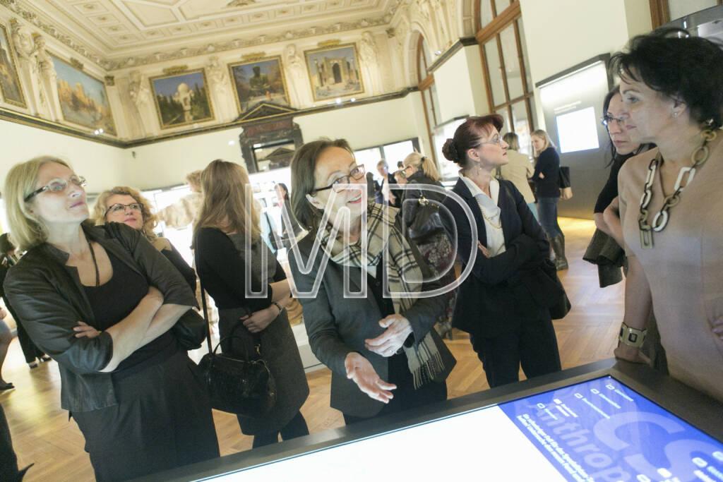 Nicola Teschler (Direktorin der Anthropologischen Abteilung NHM), © Martina Draper für Deloitte (07.03.2013)