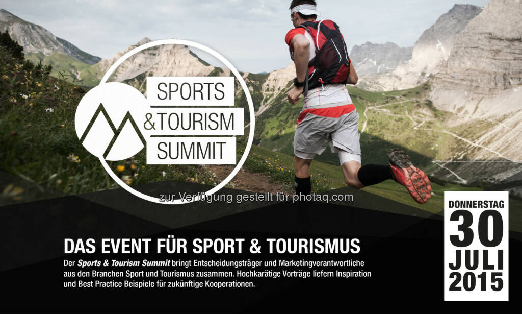 Sportalpen GmbH: Sports & Tourism Summit in Salzburg, © Aussendung (23.06.2015)