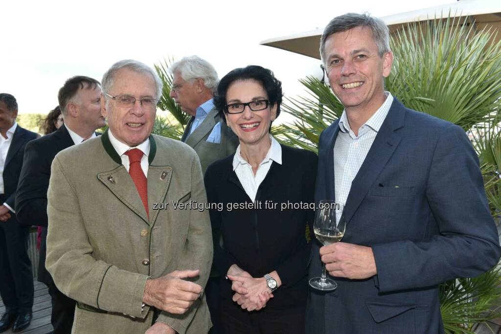 Sepp Zotti, Tatjana Oppitz (IBM), Martin Winkler (Oracle), © leisure.at/Roland Rudolph (24.06.2015)
