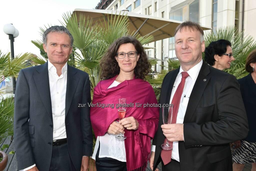 Michael Edelsbrunner (Citibank) (li), Rudi Spieß (Opel) (re), © leisure.at/Roland Rudolph (24.06.2015)