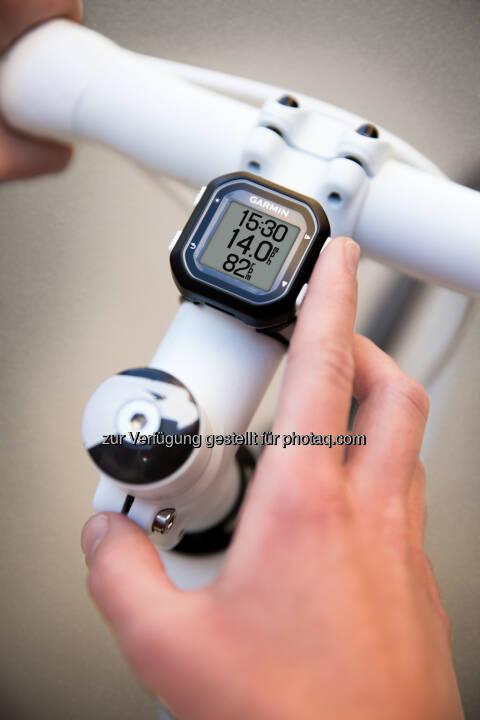 Garmin Austria GmbH: Der kleinste GPS-Radcomputer der Welt, (C) Garmin
