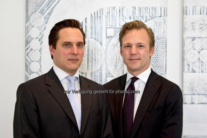 Wendelin Ettmayer (links) und Marc Lager werden mit 1. Juli zu Partner bei Baker & McKenzie in Wien ernannt. Baker & McKenzie - Diwok Hermann Petsche Rechtsanwälte LLP & Co KG: Baker & McKenzie ernennt erneut zwei neue Partner in Wien (C) Baker & McKenzie